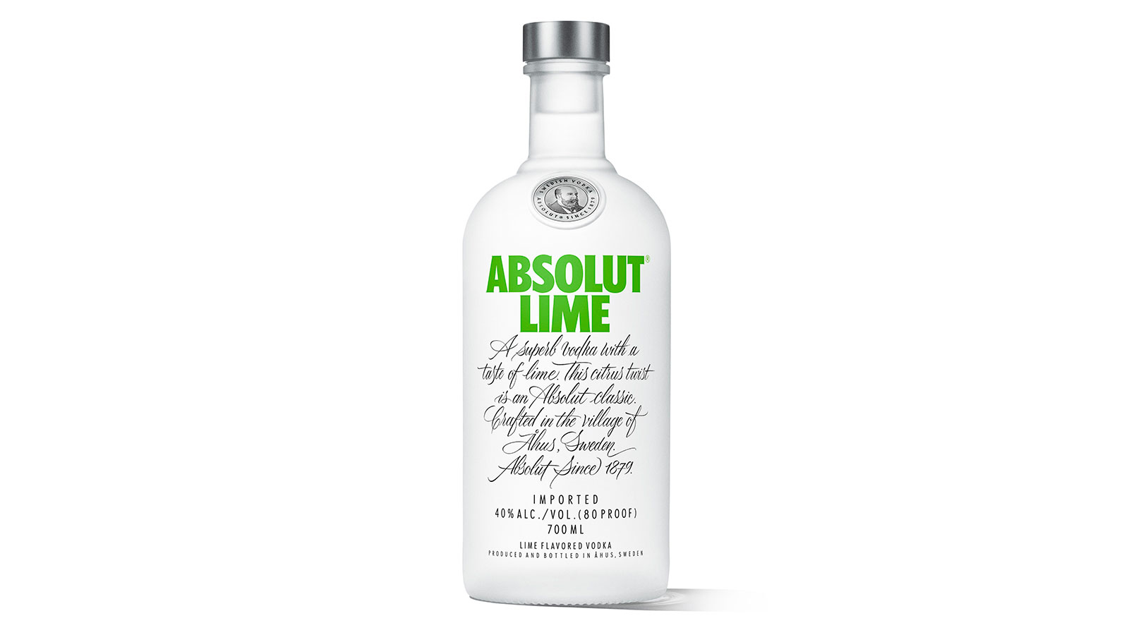 Introducing Absolut Lime, Absolut's first new flavoured vodka in four years