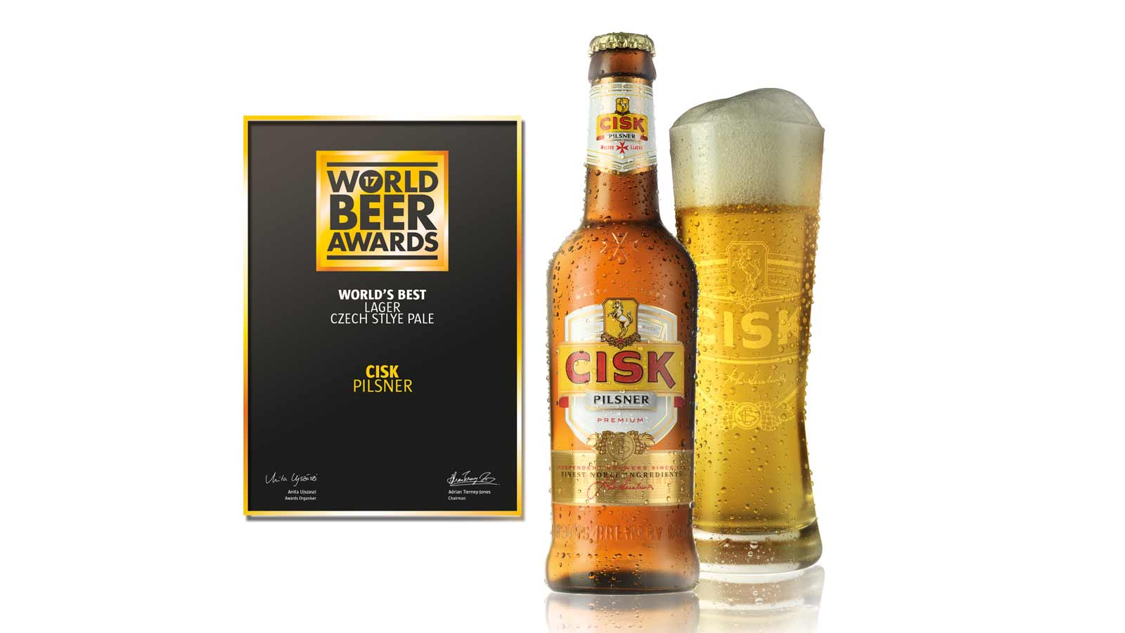 Cisk Pilsner voted World's Best in World Beer Awards 2017