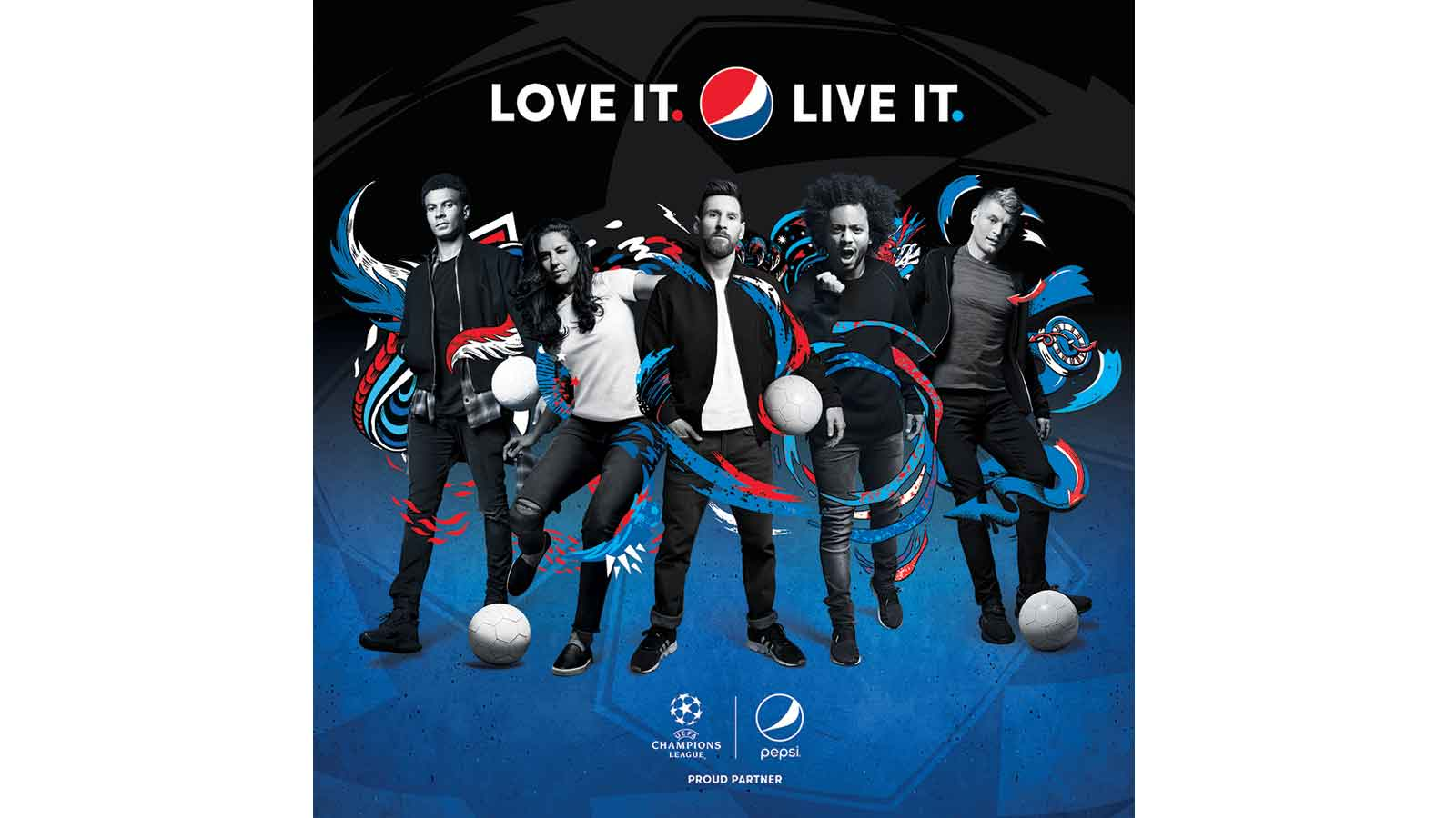 Painting the world blue: Pepsi loves and lives football with global 2018 campaign