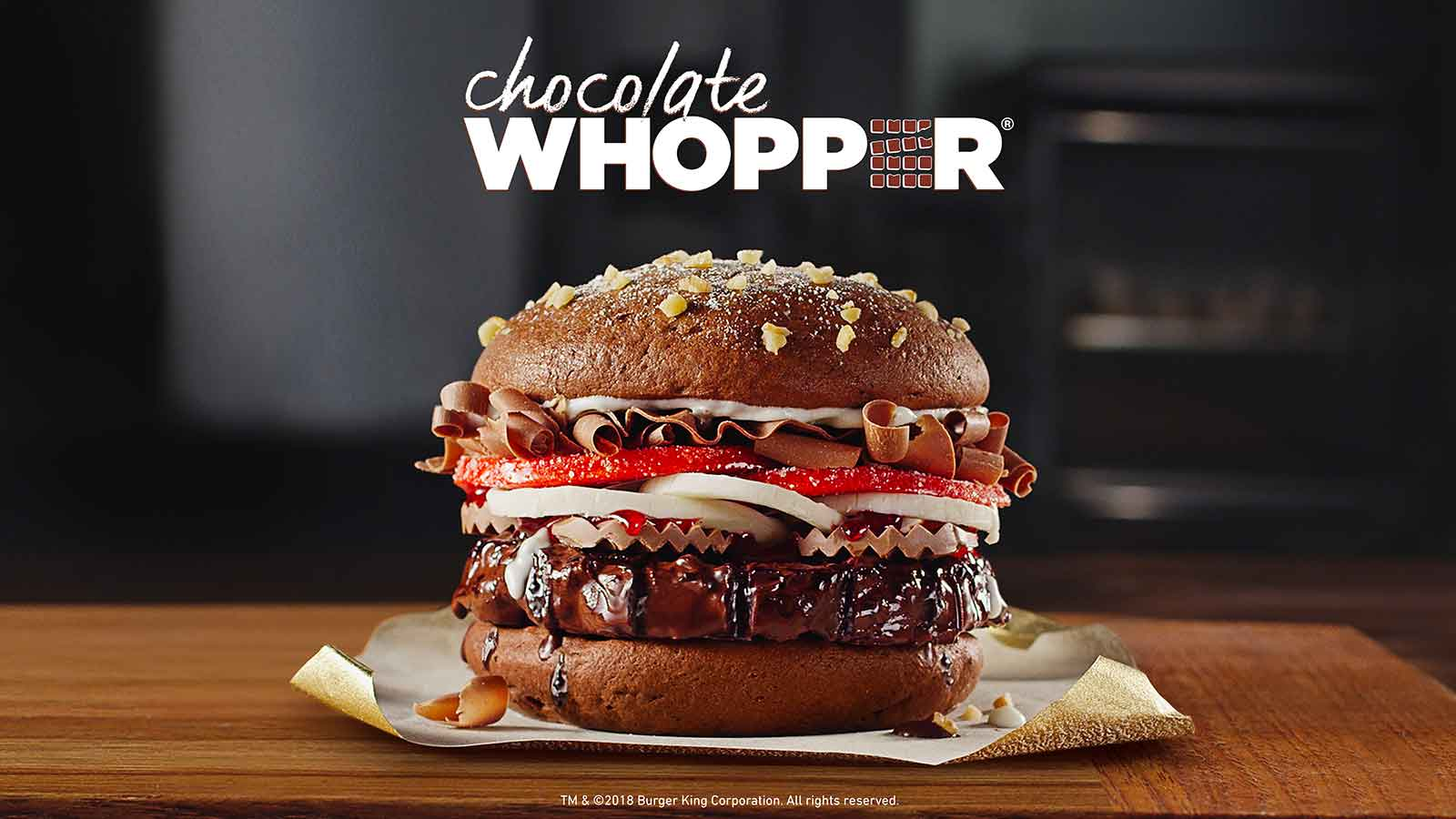 BURGER KING announces launch of Chocolate WHOPPER sandwich