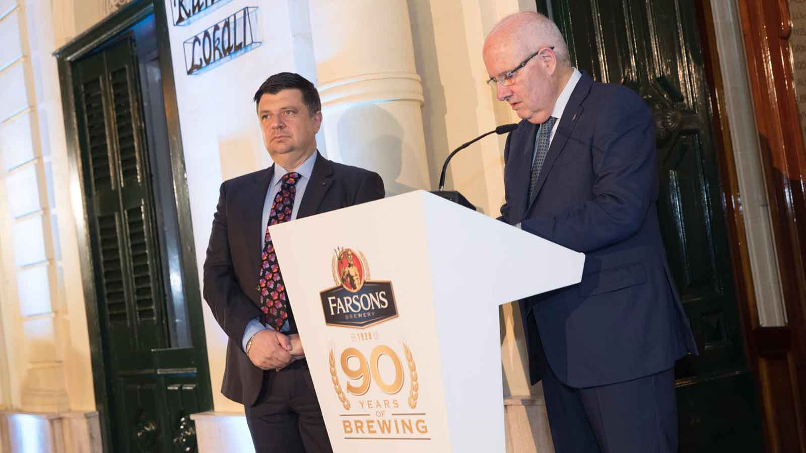 Farsons marks the delivery of its first beer to Qormi, 90 years ago