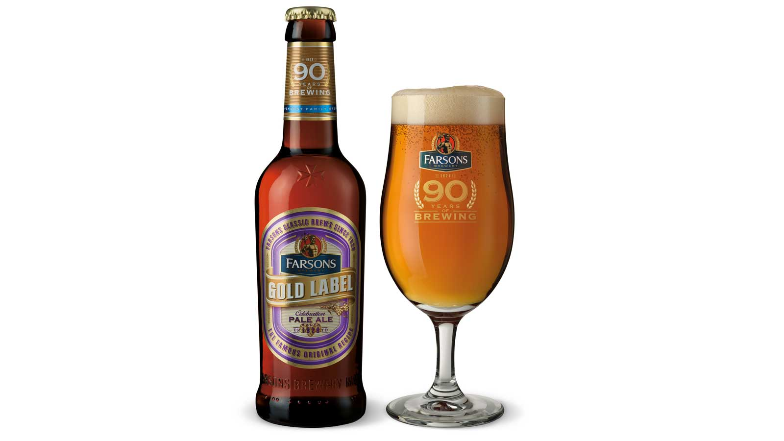 Farsons launches Gold Label Pale Ale to mark 90 years of brewing in Malta