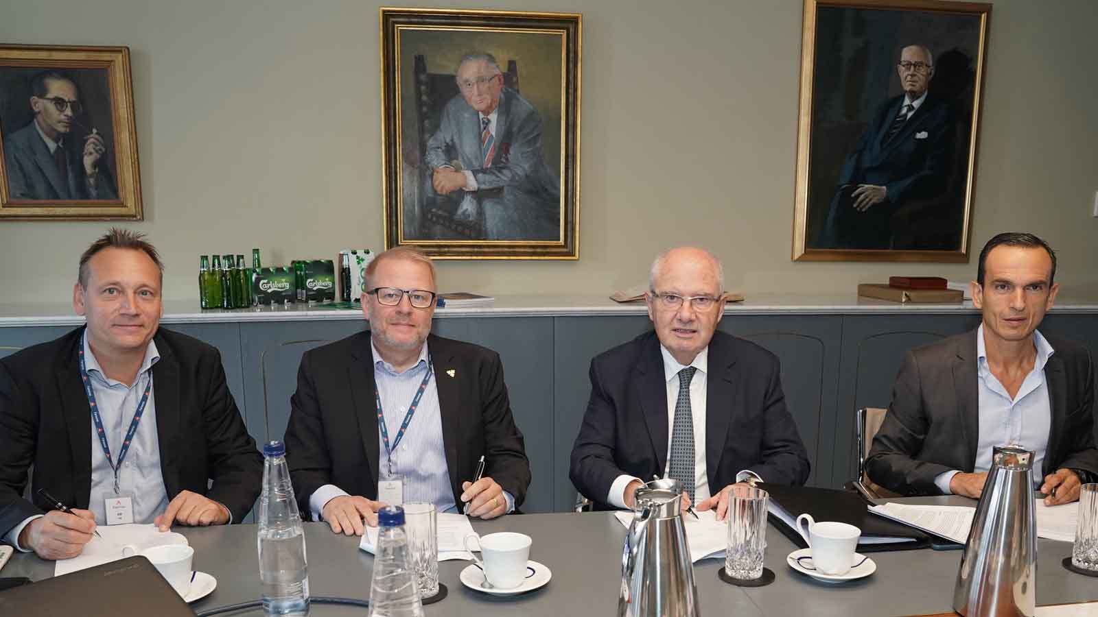 Farsons commemorates 40 years of brewing Carlsberg in Malta