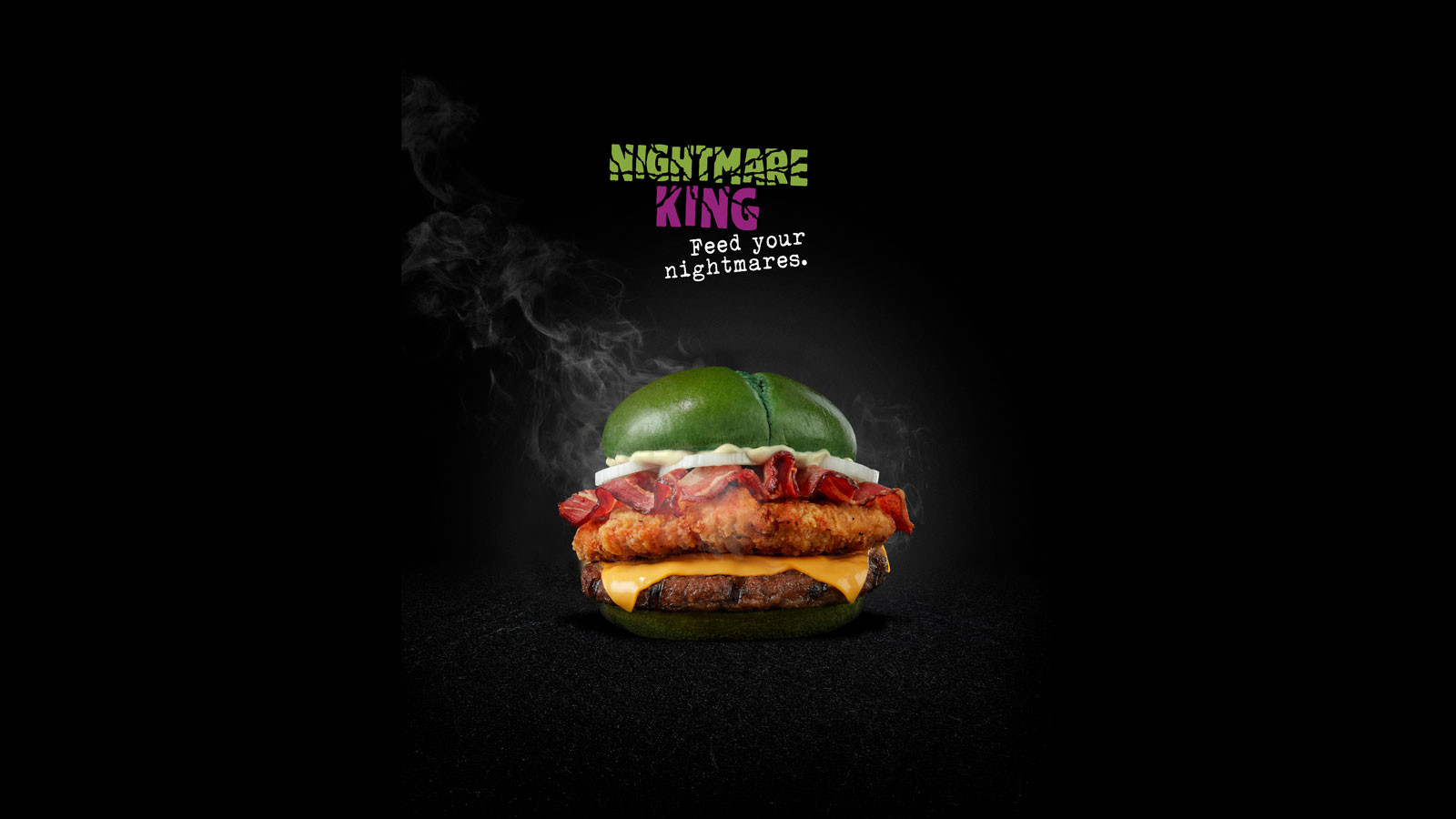 Burger King creates a Halloween Sandwich clinically proven to induce nightmares