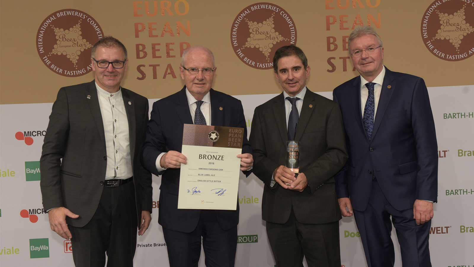 Farsons Blue Label wins at European Beer Star Awards 2018