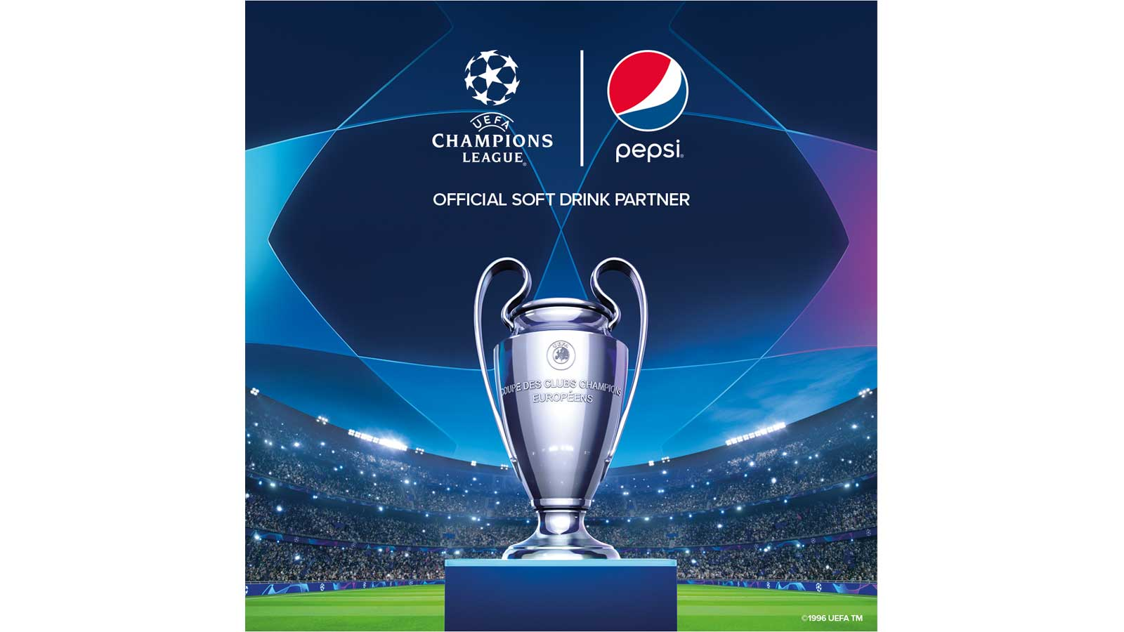 Pepsi-Cola brings the UEFA Champions League Trophy to Malta