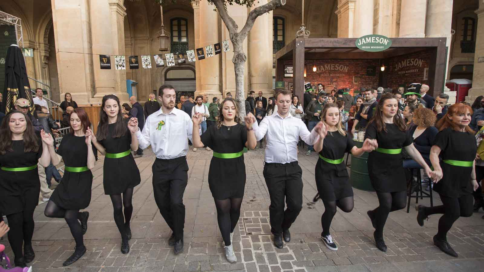 St Patrick's Day celebrated in Valletta