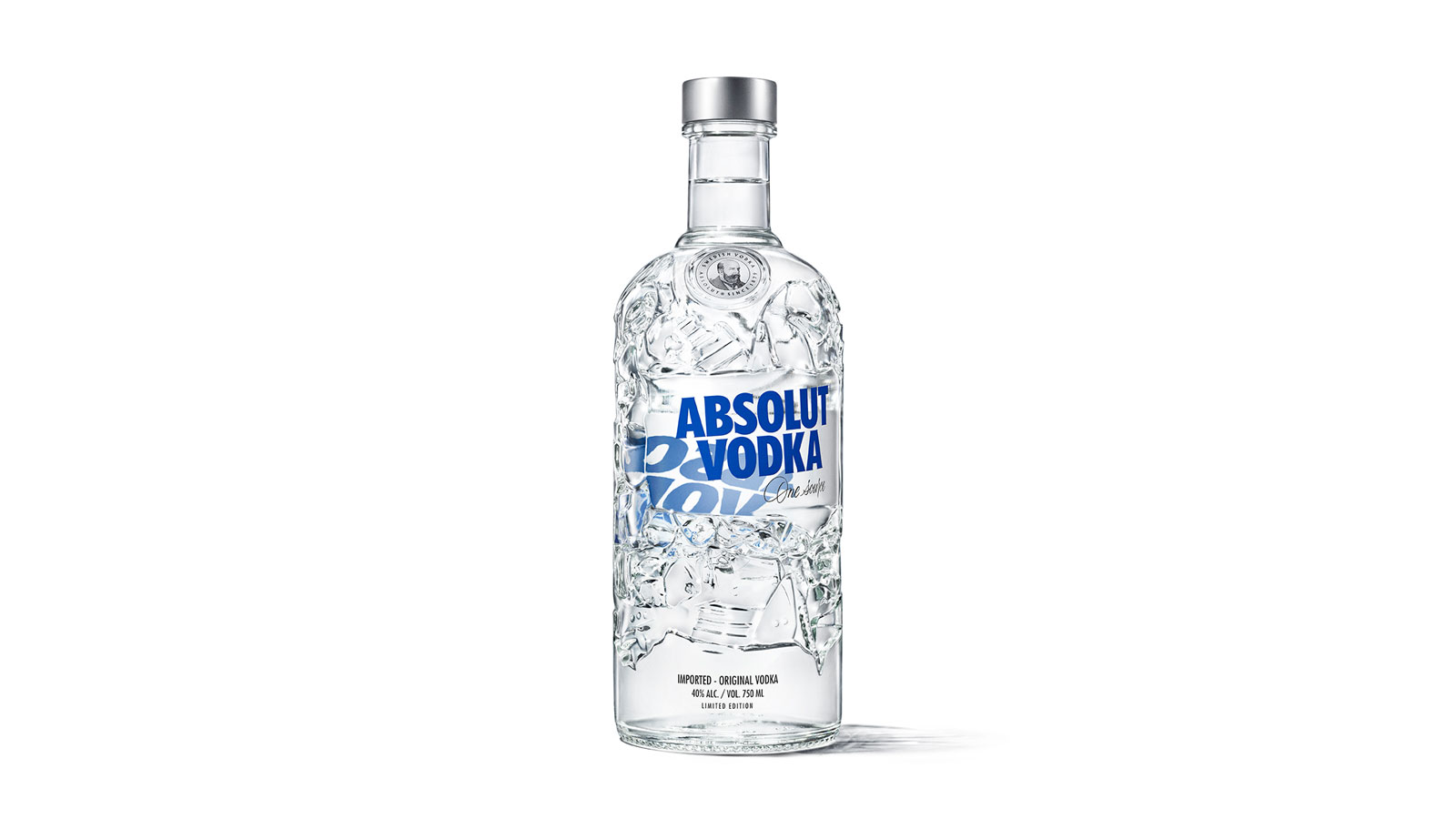 Absolut launches Absolut Comeback, a new limited-edition bottle celebrating recycling