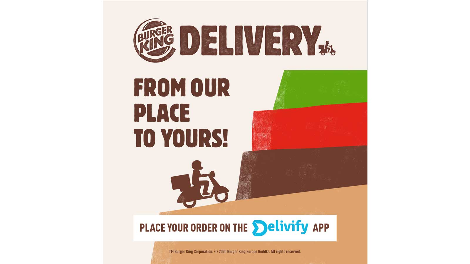 Burger King launches delivery service in Malta