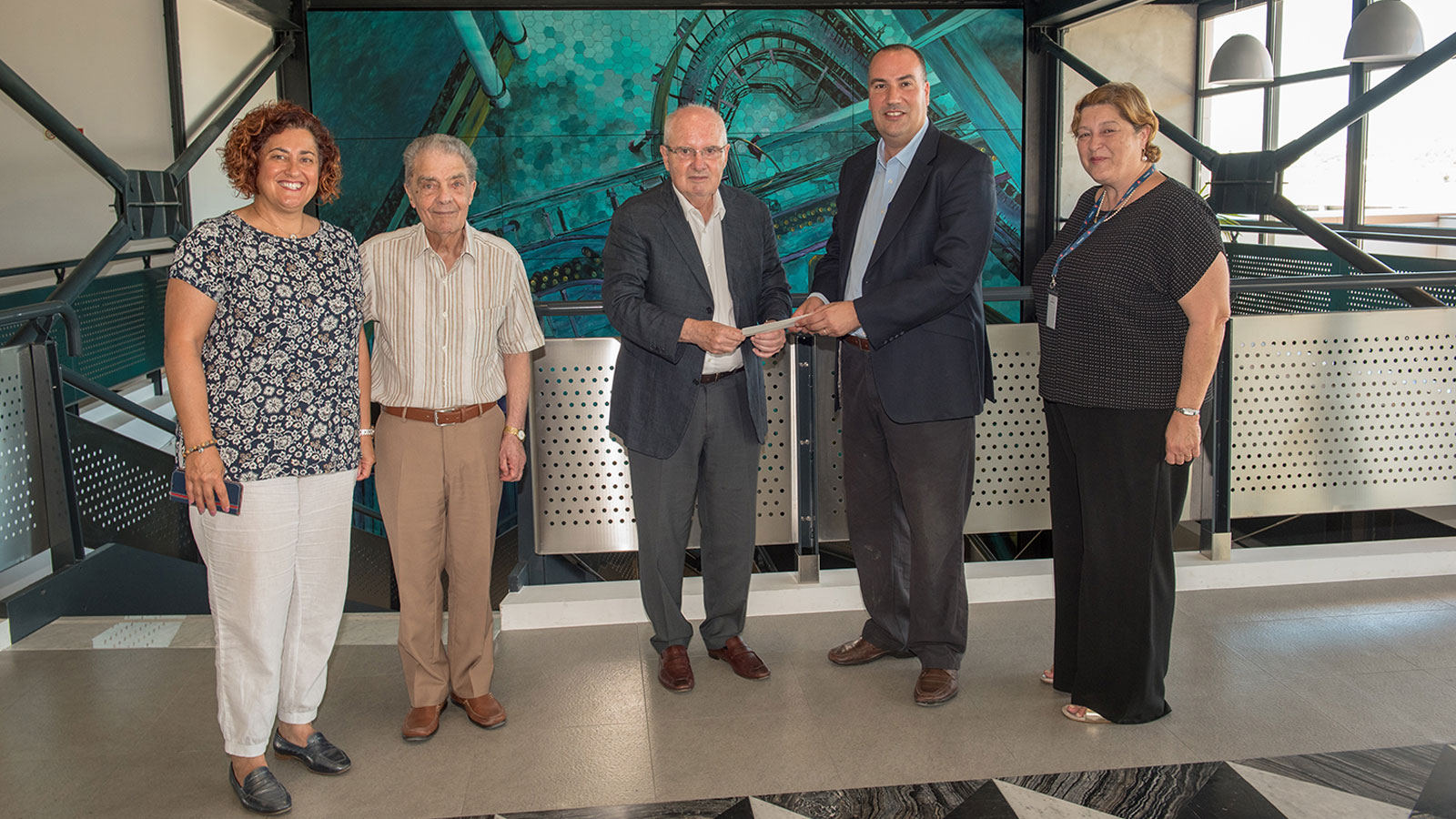 Farsons presents donation to Caritas, renews agreement