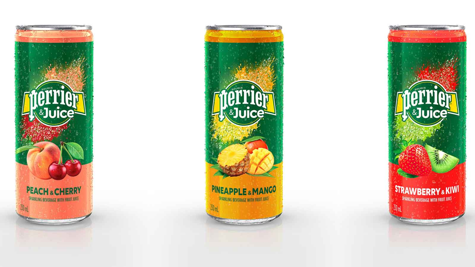 Perrier launches latest innovation, Perrier & Juice