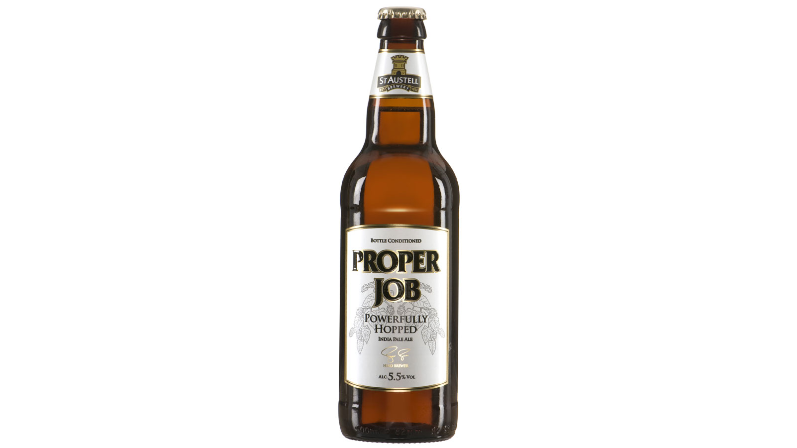 "St Austell's ""Proper Job"" named one of the top 10 craft beers"
