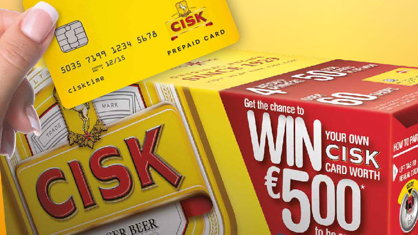 New exciting promotion from Cisk Lager Beer