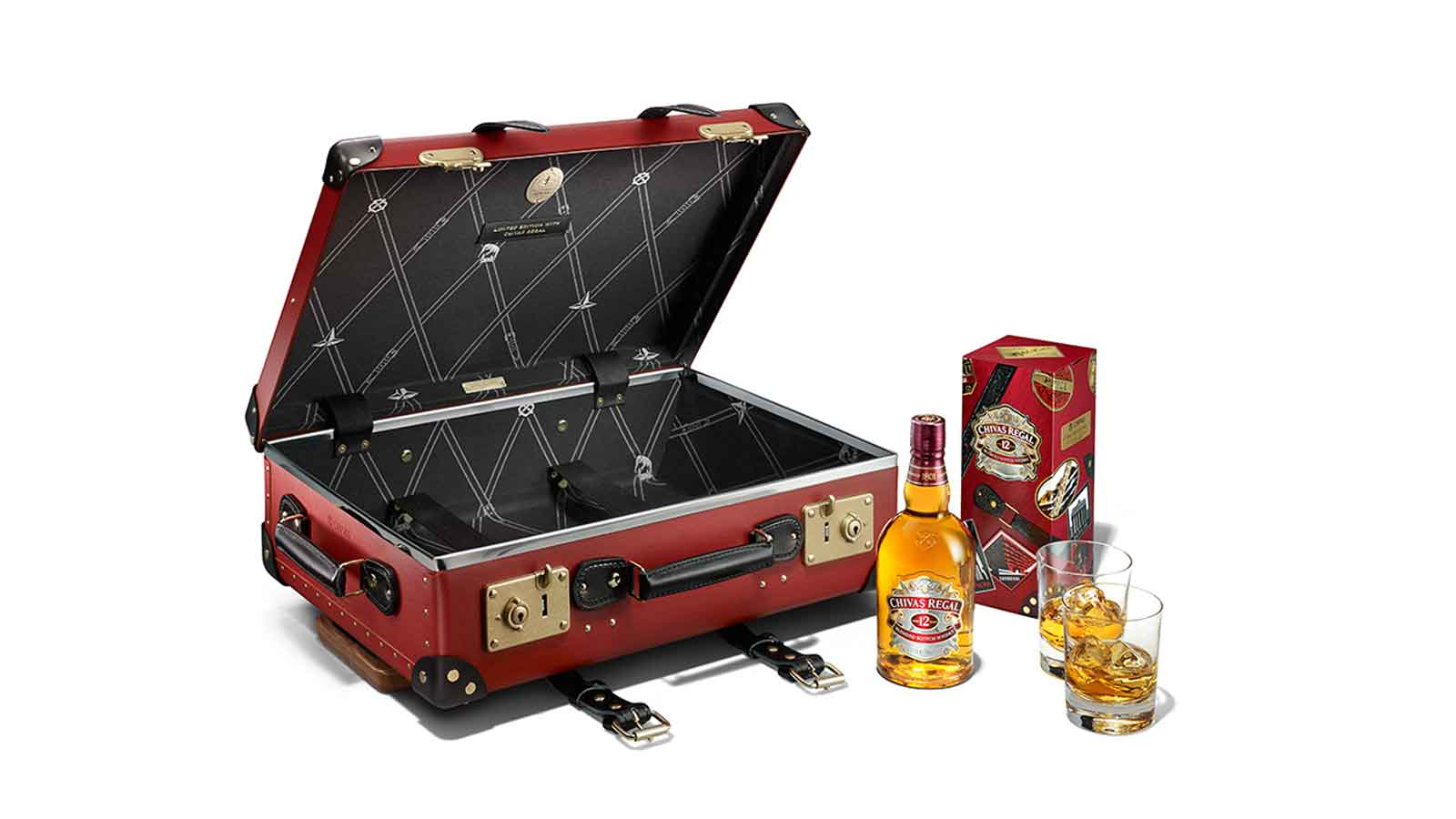 Passport to Luxury: Introducing Chivas 12 'Made for Gentlemen' by Globe-Trotter