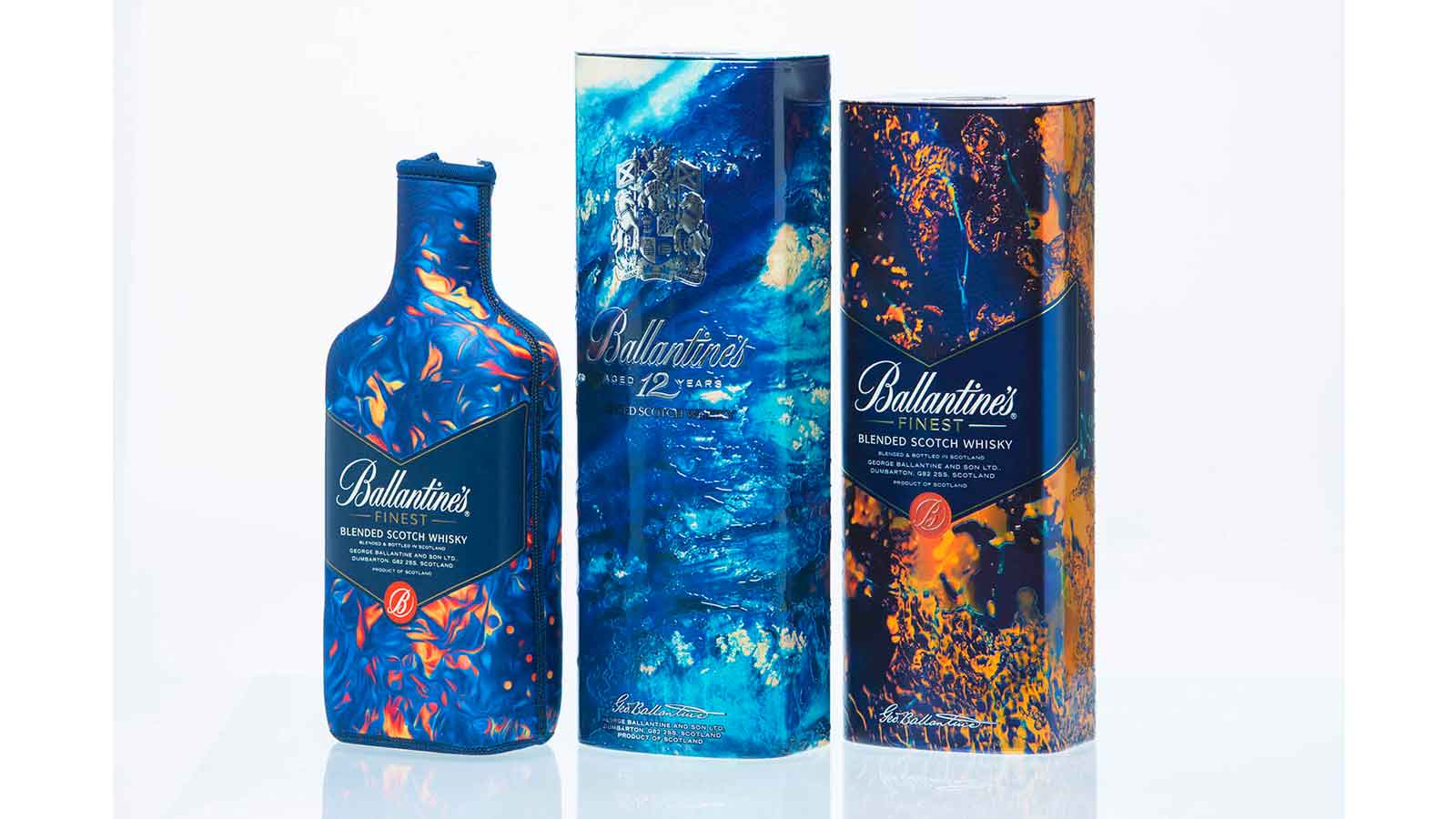 Ballantine's and Album Cover Artist Leif Podhajsky collaborate for Christmas 2015