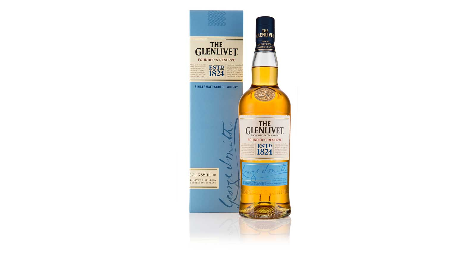 The Glenlivet announces the arrival of Founder's Reserve