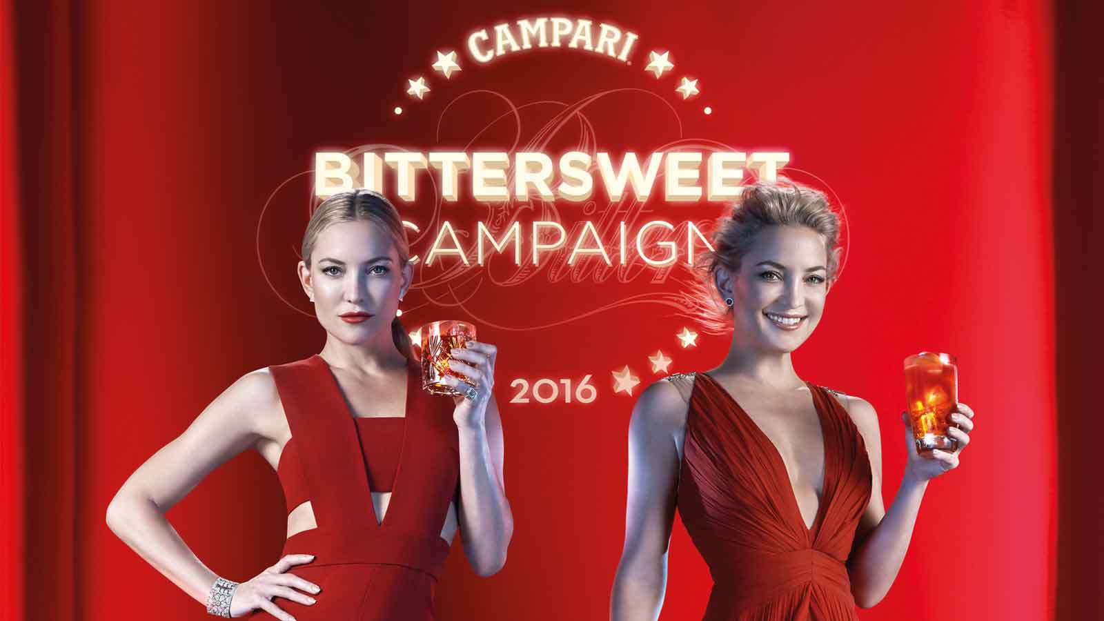 Campari takes a stand for its BitterSweetness with Hollywood actress Kate Hudson