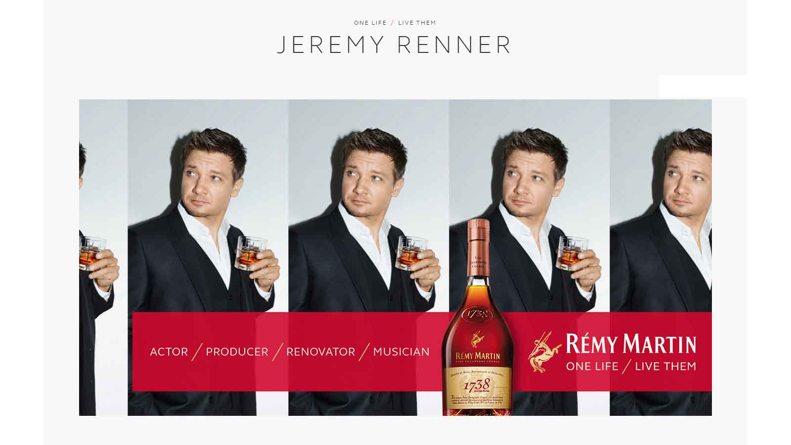 Rémy Martin launches new global brand website and engagement platform