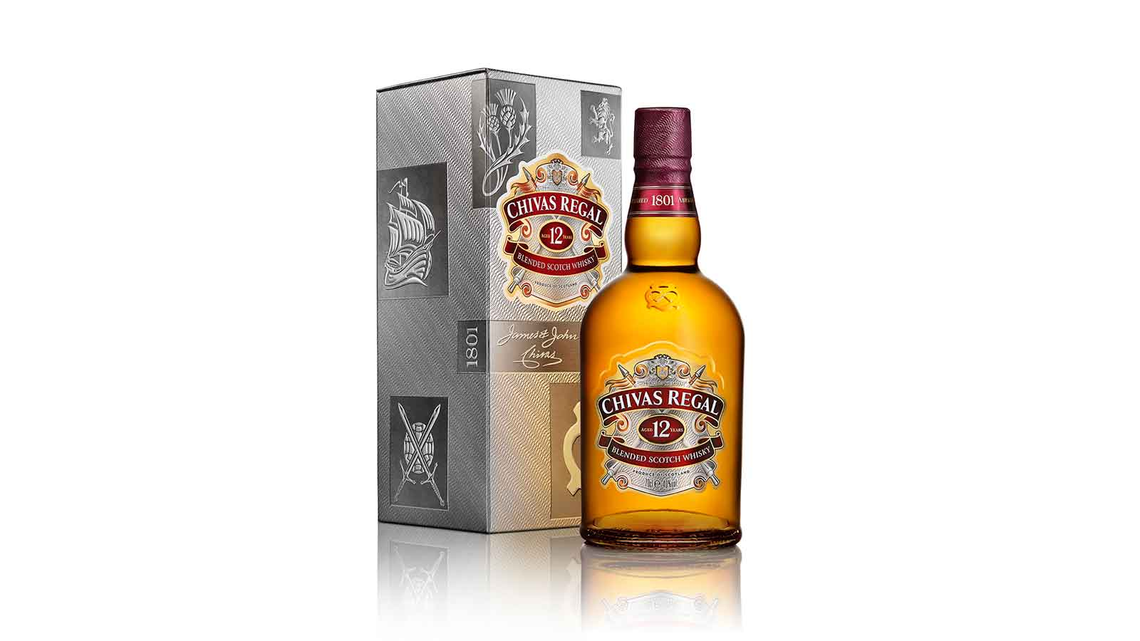 The reinvention of an icon: contemporary new look for Chivas Regal 12