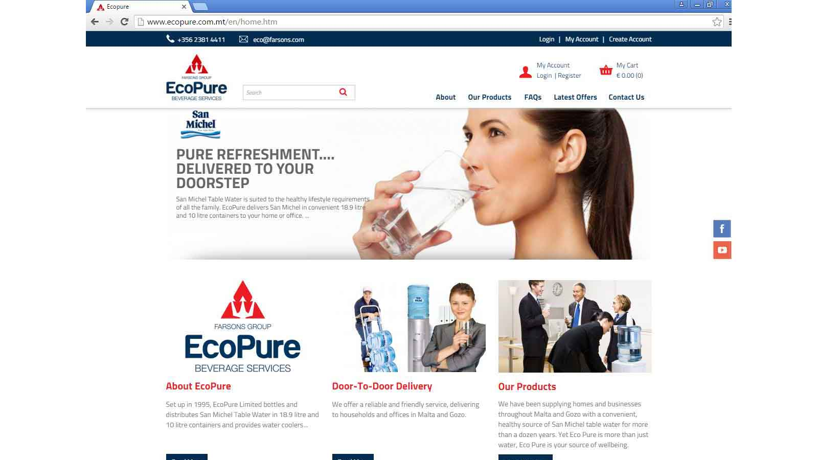 EcoPure launches website