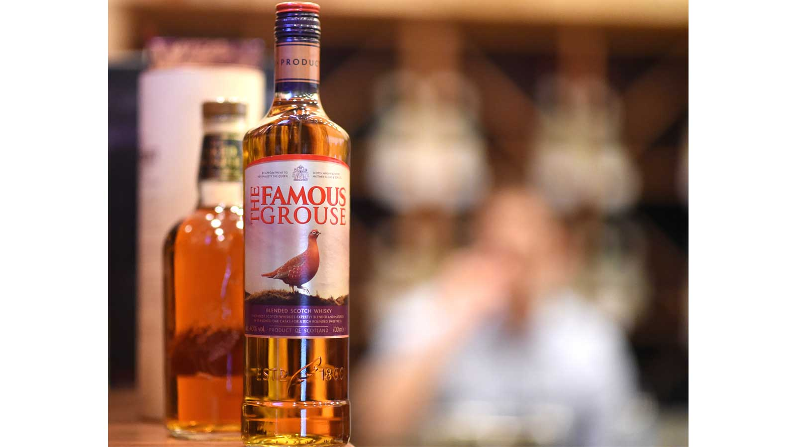 The Famous Grouse reveals premium makeover