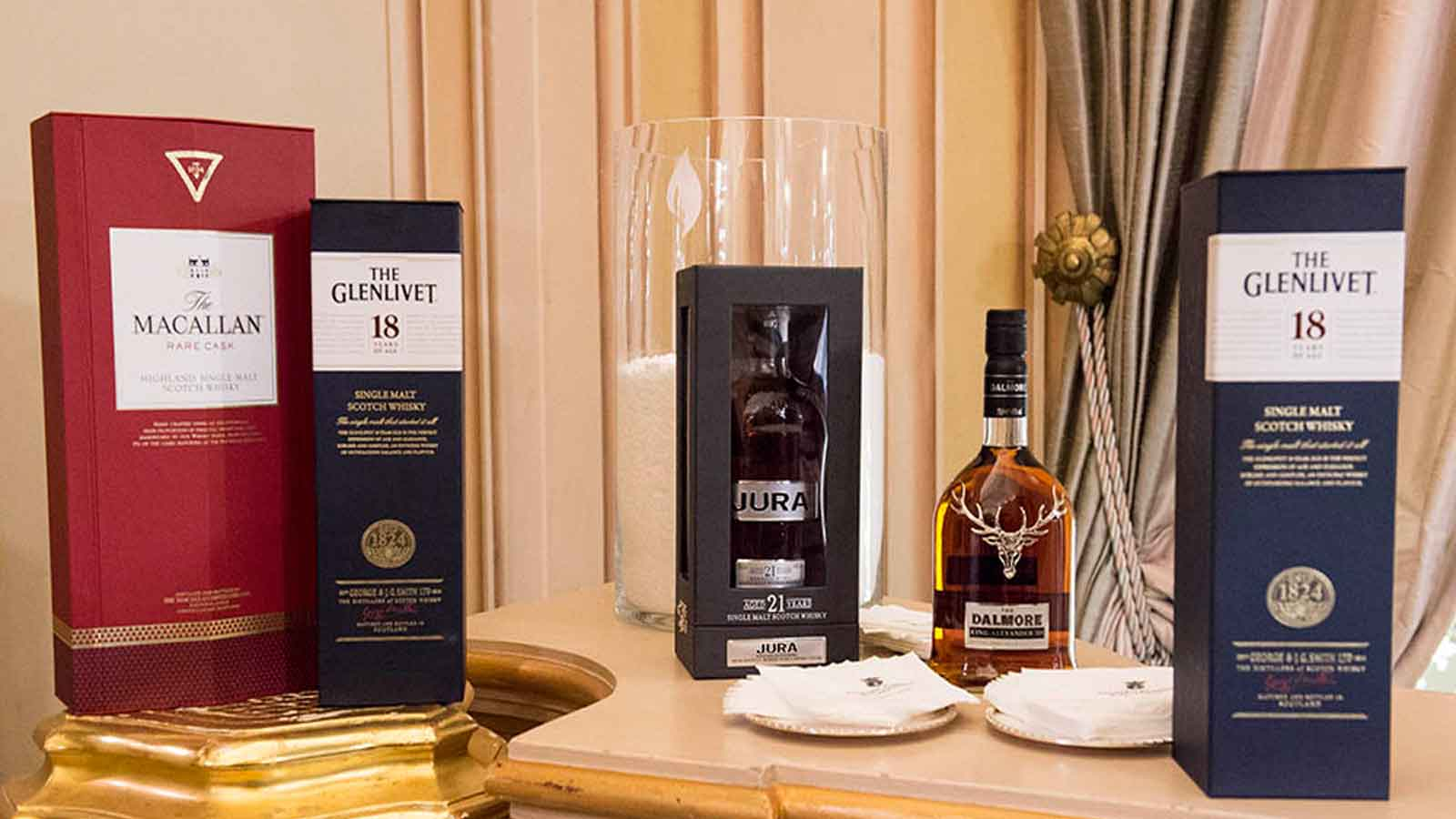 Premium Single Malts at Palazzo Parisio