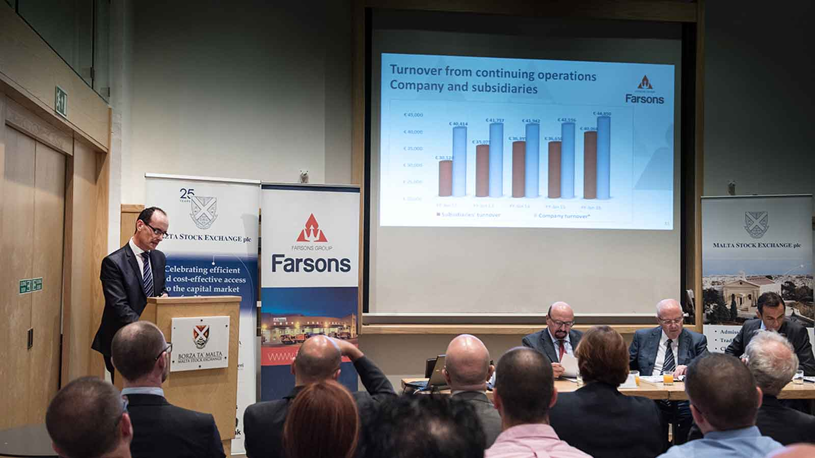 Simonds Farsons Cisk plc addresses Research Analysts at MSE