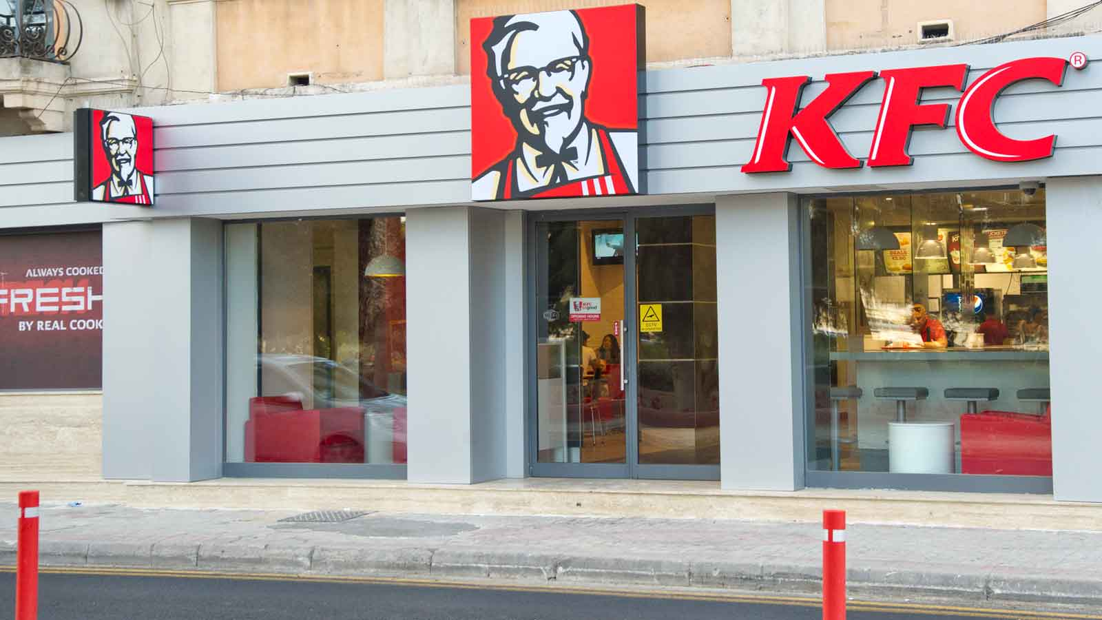 KFC Gzira reopens with a fresh new look