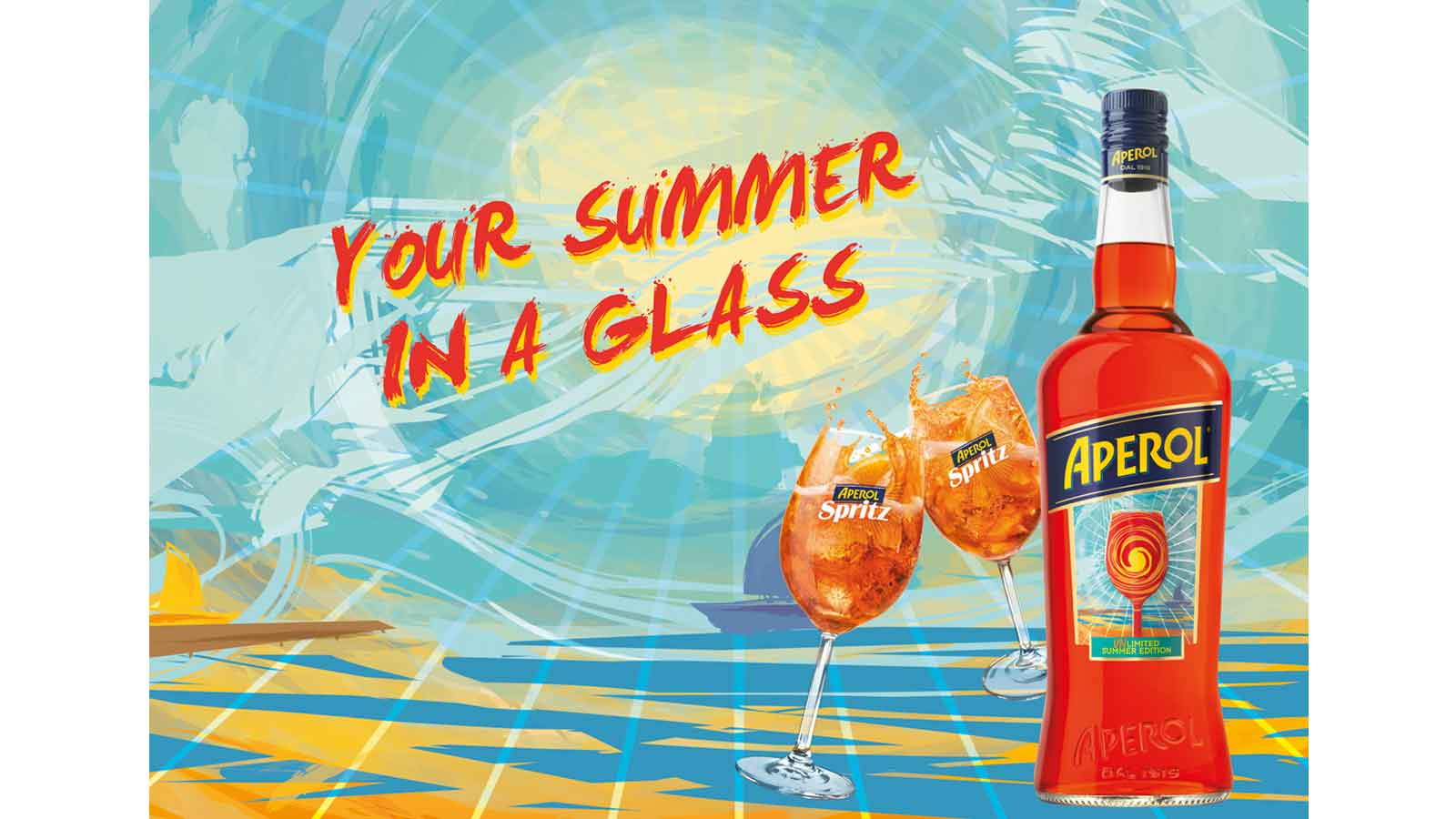 A sip of summer: Aperol launches new unlimited summer edition