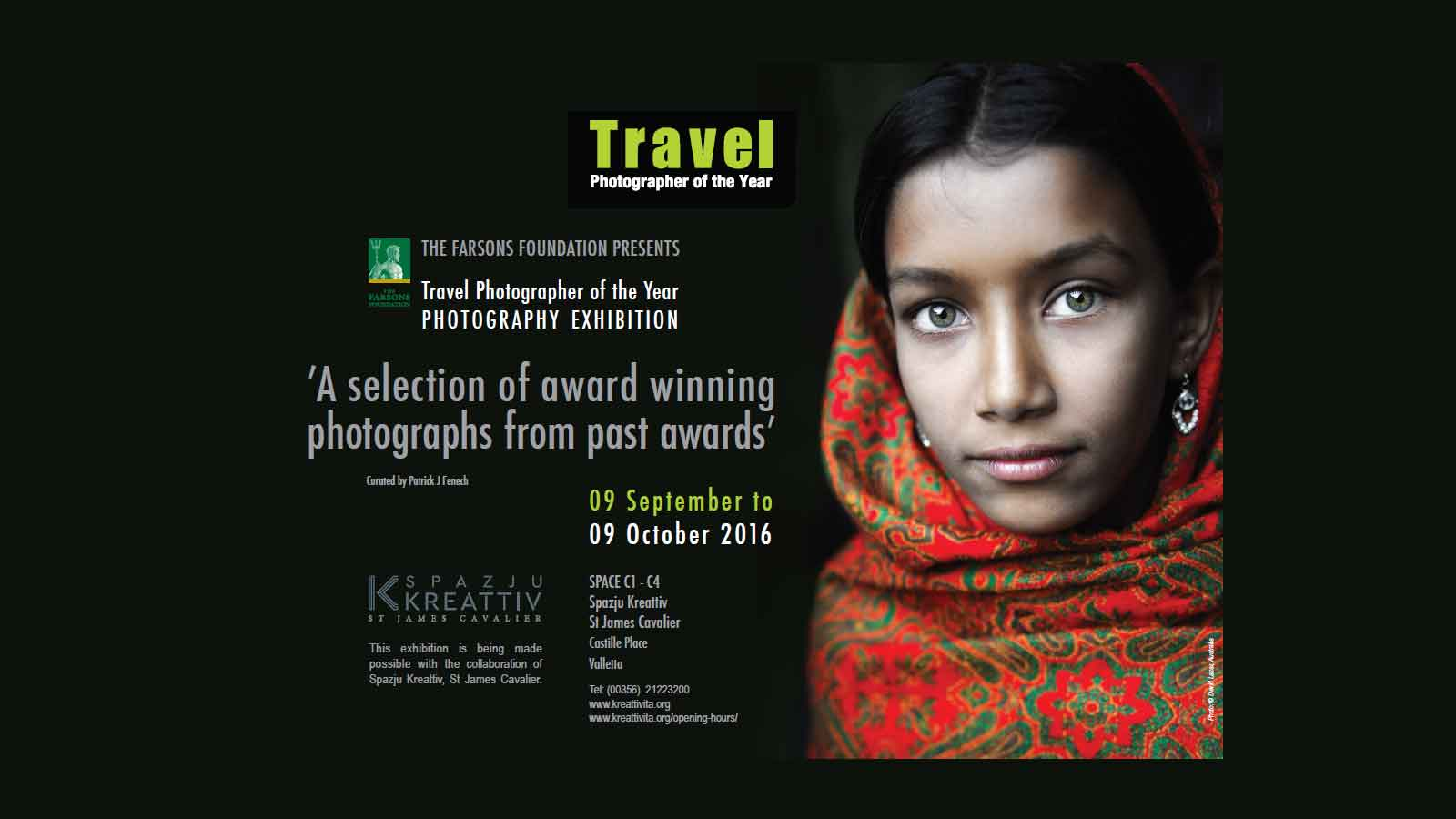 The Farsons Foundation brings best of Travel Photographer of the Year to St James Cavalier
