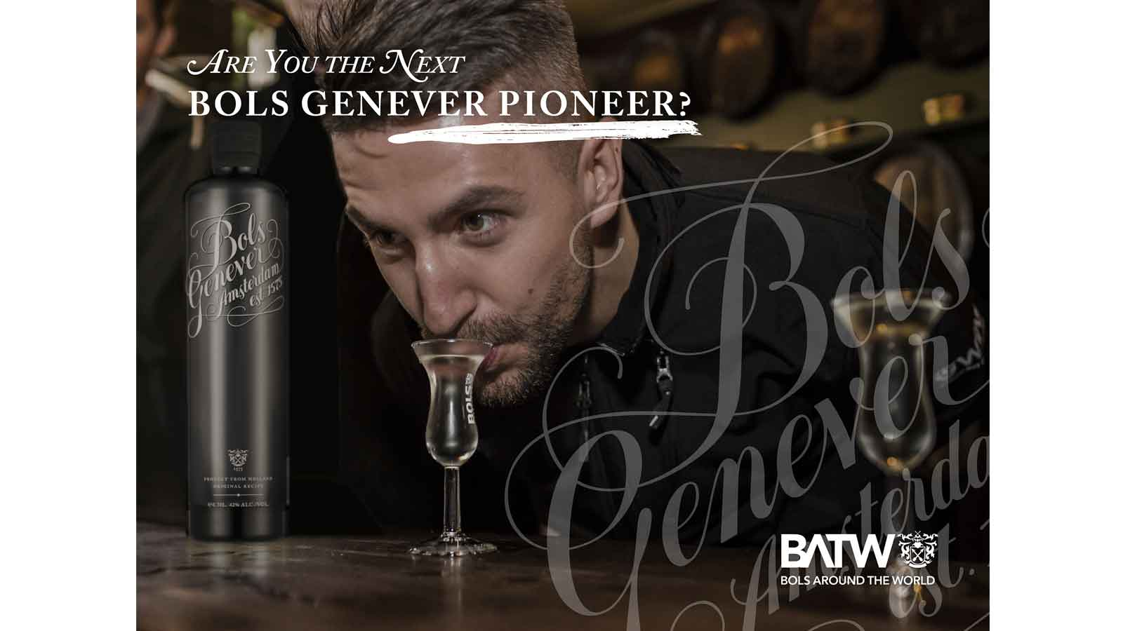 Are you the next Bols Genever Pioneer?