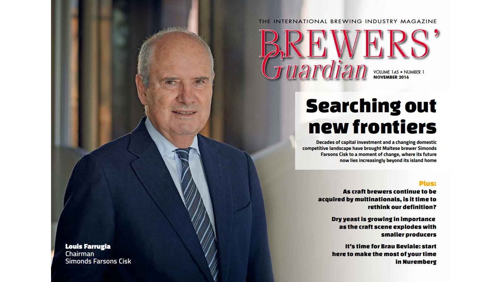 Farsons Brewery featured in international publications