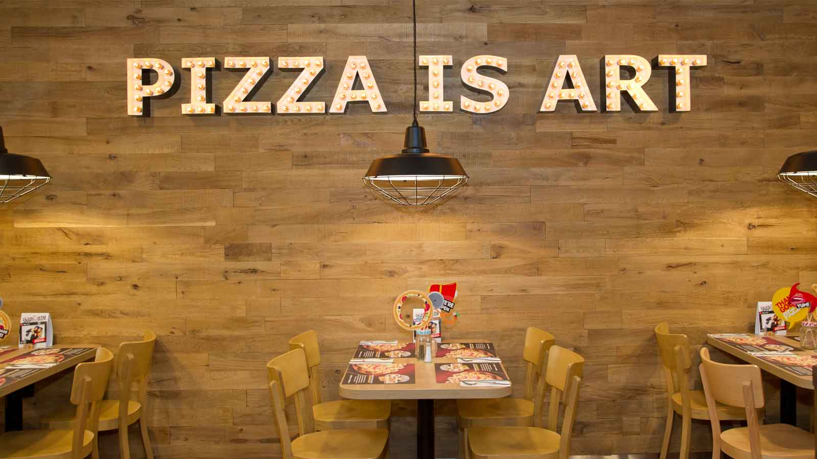 A fresh new look for Pizza Hut Valletta