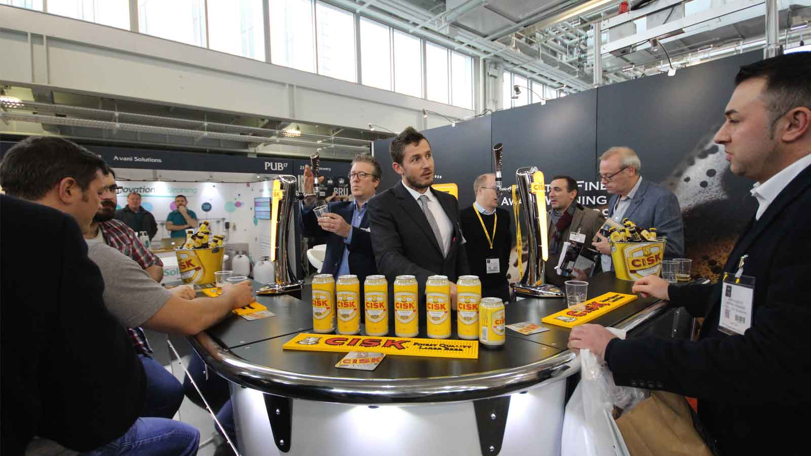 Cisk Lager launched on draught in the UK