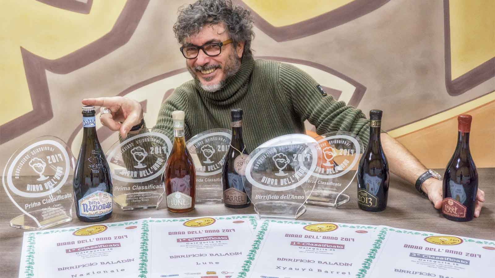 Baladin voted Brewery of the Year 2017 by Unionbirrai