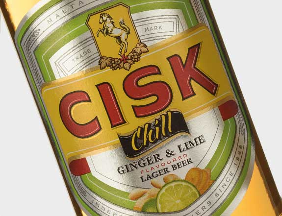 Cisk Chill Ginger & Lime