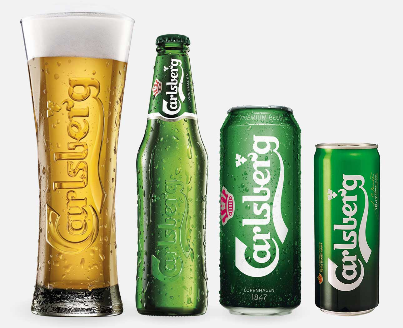 Carlsberg's containers