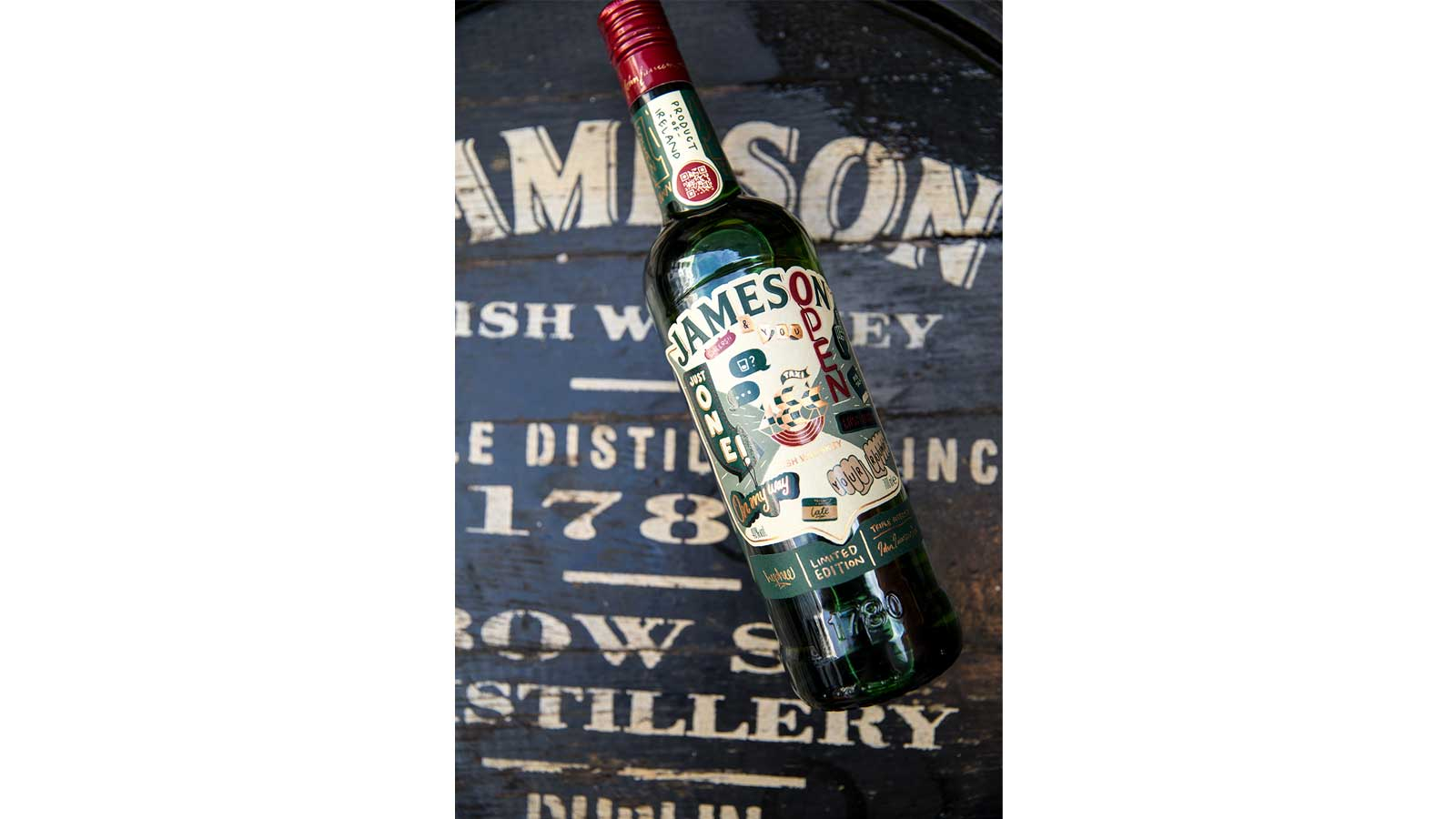 Jameson calls on fans to join in this St Patrick's Day through 2020 limited edition bottle