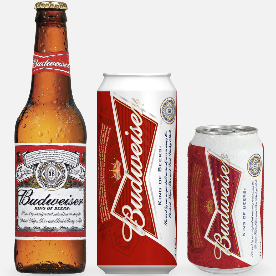 Budweiser's containers