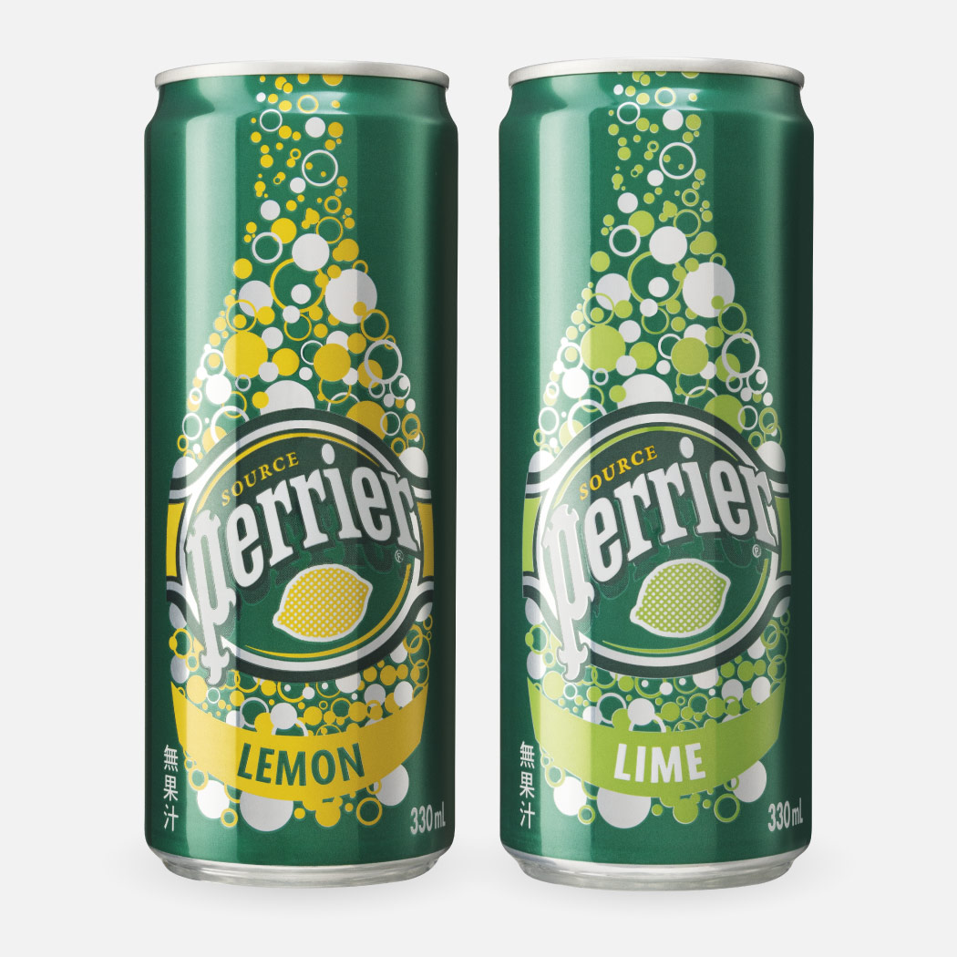 Perrier's containers
