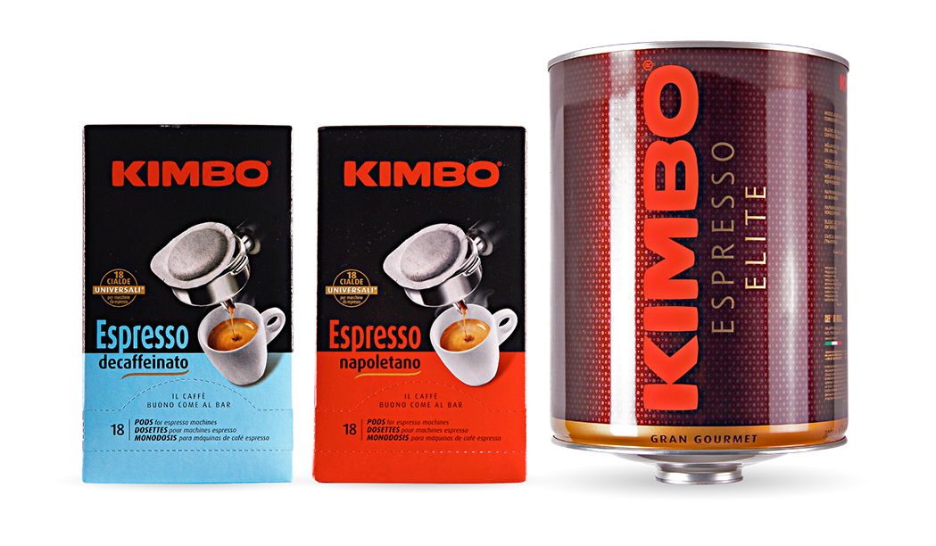 Kimbo's containers