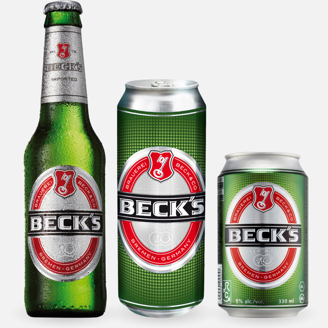 Beck's containers