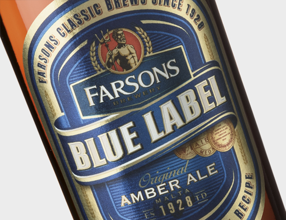 Blue Label Original Amber Ale